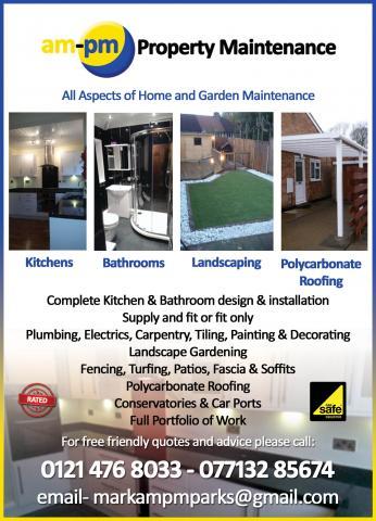 Property Maintenance Birmingham Uk